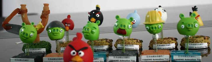 Angry Birds Resin