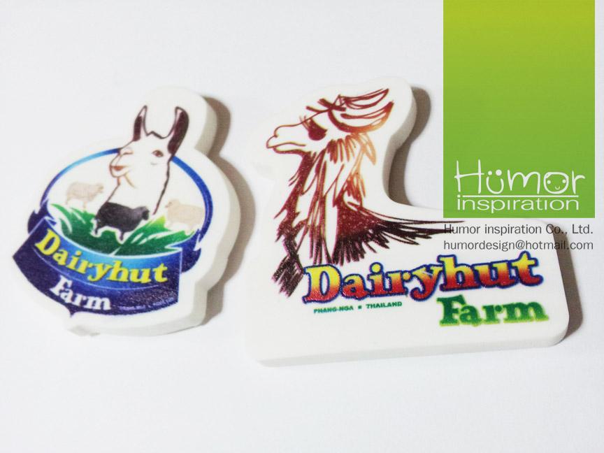 แม่เหล็กติดตู้เย็น Dairy Hut Farm พังงา