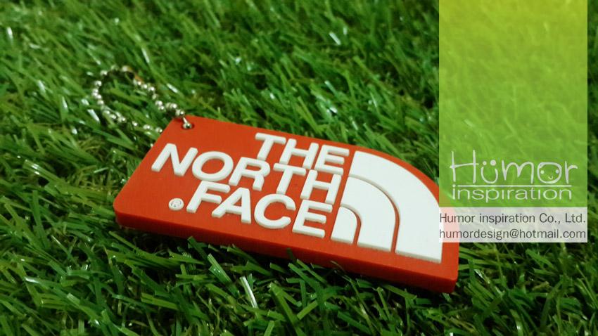 พวงกุญแจยางหยอด Norhface